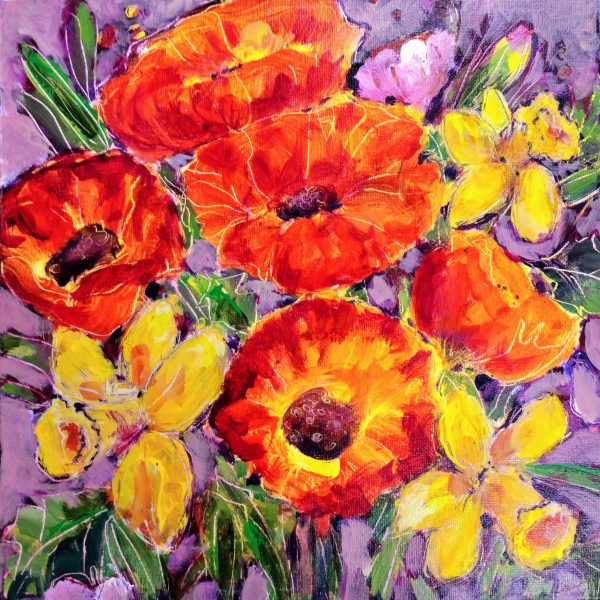 original art, mixed media by Elizabeth Verco
