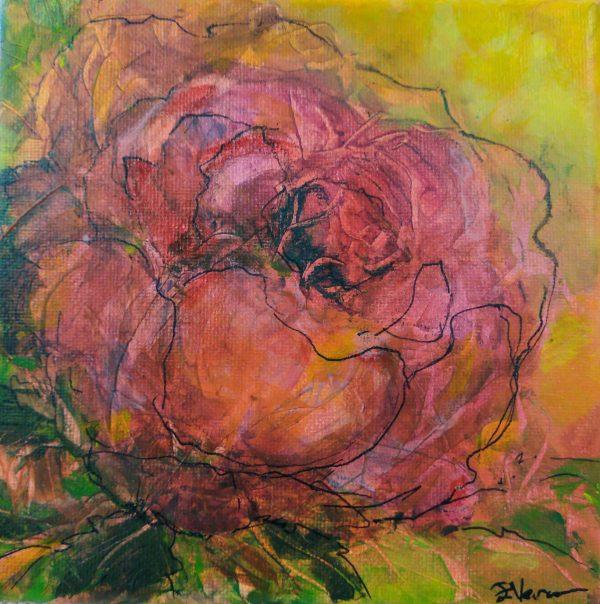 original art, mixed media by Elizabeth Vercoe