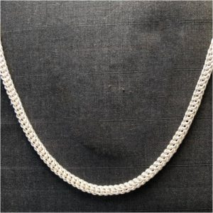 16g Bysantine Necklace, Sterling Silver by Charles Funnell