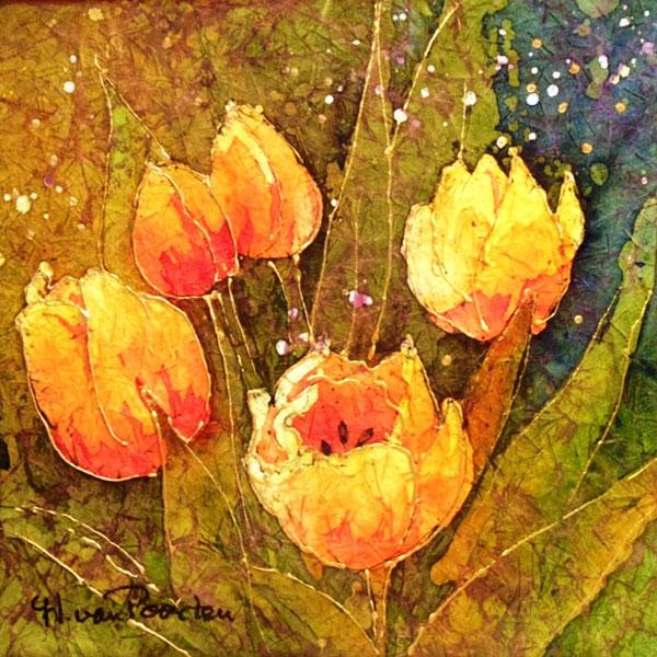 Tulips by Helen van Poorten