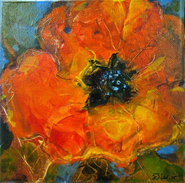 original art, mixed media, by Elizabeth Vercoe