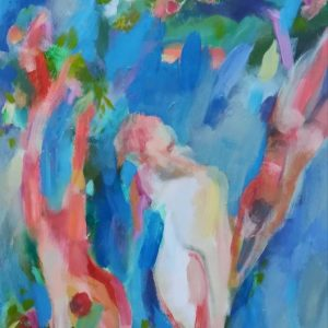 "SPRING by Heather ROY, Oil on Canvas, 24"" x 36"", $600"