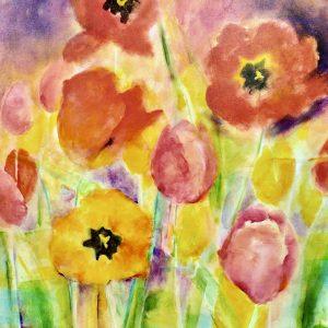 "original art, acrylic, 25' x 31"" by Elizabeth Vercoe"
