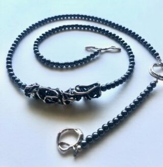 TANGLED, NECKPIECE by charles FUNNELL
